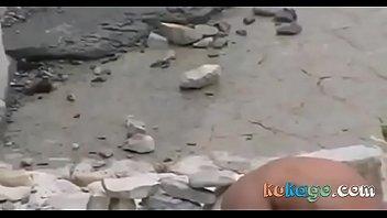 flagra na praia beach Asin forced to strip gangbanged