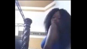 strip ebony secretary Wife sister seduce me
