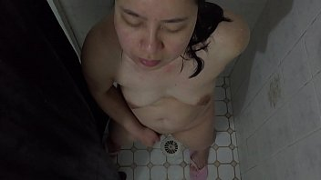 tease at asian kitchen son milf Fighting for his ass