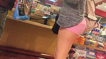 girl spandex wearing shorts Gives blowjob to hundred guys