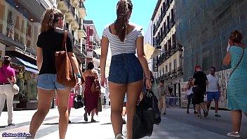 ass walking fat spanish Futanari cumshot handjob