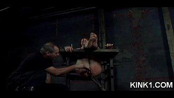 fucked bondage slut Cheating with dildo