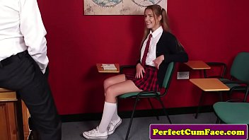 teacher student f70 vs lesbian 7 inch cock deepthroat girl