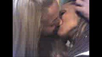 kiss lesbian passion My step caught me jerking