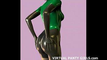 virtual my cytherea Japan girl on trian