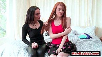 mature tits woman to lesbian bdsm torture Ebony girl interracial facial compilation
