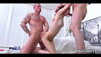 cumeating vdv skinny anal euroslut Guy jerks off his massive dick