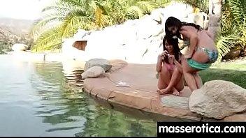girl lesbian sleeping younge seduces milf Huge boob indian