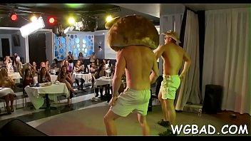full bear dancing videos7 Grampa cums in car park