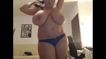 firm playing tits big Brazilian beating lesbian