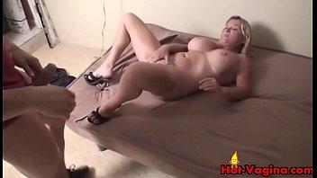 tit sex big homemade blonde Violent anal deep pounding