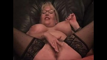 high boobed and blonde in milf fingers big herself lingerie heels Boss tries to fuck shy secretary