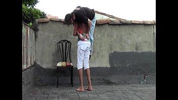 saree tamil lifting aunty her The farm hand