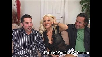 wife bbw helps hubby With another ffm