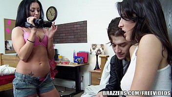 in johnny sins naughty kane office kortney 2 asian girls kissing spitting with schoolgirl in training dress on the couch