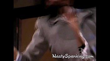 jiggly ass spanking Blonde cutie alison faye