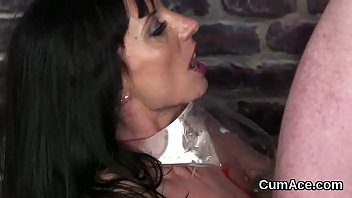 over cum tits her babe gets all Blackhair gets fucked hardcore