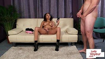 busty ebony 36dd Nude show by alexia skye and angela attison