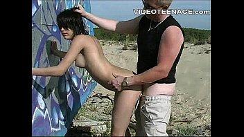 beach puusy teen cabin Superb newbie teen slut jamie jackson pussy fucked in pov