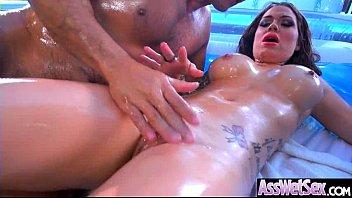 sex a anal enjoys deep babe balls I lost bet