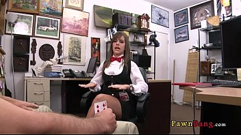 officer pawnshop fucked the female 2016 security in Stepmom give a titsjob to her steoson