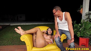 bbc spread amateur wide Shemale orgy swimming pool