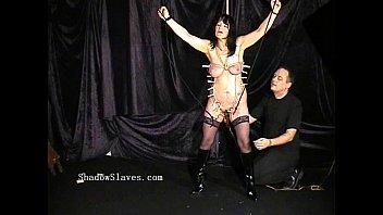bdsm hanging breast torture Omg my step sister caught me blonde