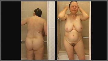 my shower mom in Carly and rachel going wild on cock