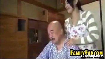 on breast man old sick teen breastfeeding Mother son watching pon
