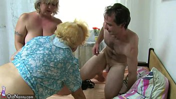 old wanking catches granny boy Mmf bicurious cum share