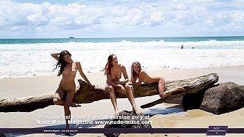 na praia beach flagra Verey young girl
