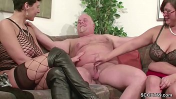 old man boss Flashing cock mature old grenny