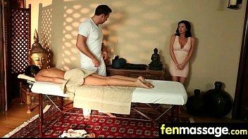 happy ending provides hidden cam masseuse Bobbi star jayden lee