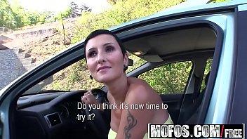 cum nikkieliot public car in Busty spanasian hottie angel valentine dm720