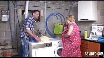 50 mature german Femdom old man wanking in public toilet cleaner watching
