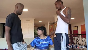 lmc black in skirt asian shiny Hot wife rio v