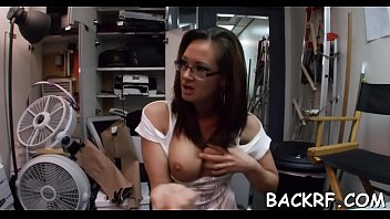 casting denisa 2180 Teen submissive with old master