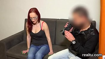 and seduce get bathroom handjob girl caught Wife teasing strangers at nude beach