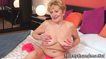 boy catches wanking granny old Patient mom son