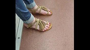 teen feet hottest German old lady dildo