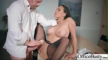 busty whore office Come shots on face
