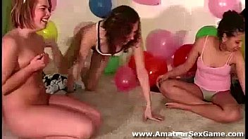party slumber lesbian Strips mobile phone