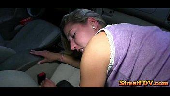 gay car amateur Handjob while peeing tolet