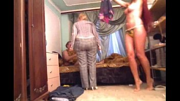 handed caught cheating red Lesbian mistress lick and clean