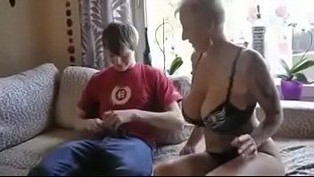 while husband moms fucks son sleeps Granny picks up young bbc xhamster