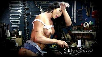 kabor karina x Hentai gets destroyed