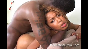 ebony mature creampies Anal creampie on bed