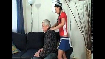 extrem grandfather and his young granddaughter Radeka pandeth xxx play