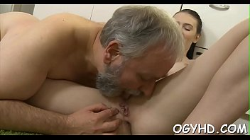 movieture even his age young she with climbs old sex boy grandmother Seducing redhair hotty to sex for cash