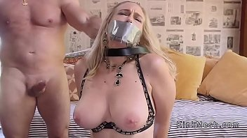 tied chair7 up Briana banks before boobjob6